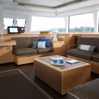 Custom cut boat cushions